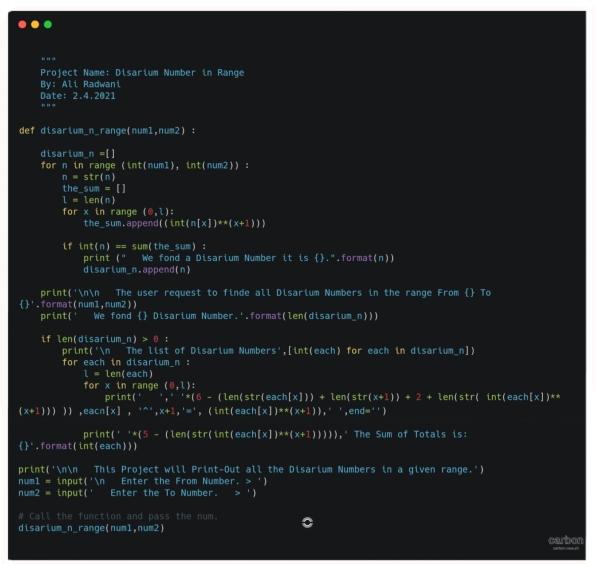 python project code doha qatar ali radwani