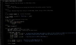 Ali radwani ahradwani.com python code heap sorting algorithm