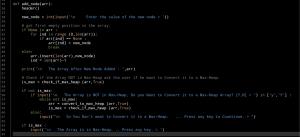 ali radwani ahradwani.com python project code heap sorting