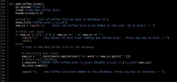 python project sql coffee consumption code ali radwani